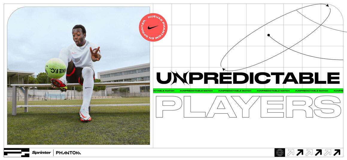 Nike Unpredictable match