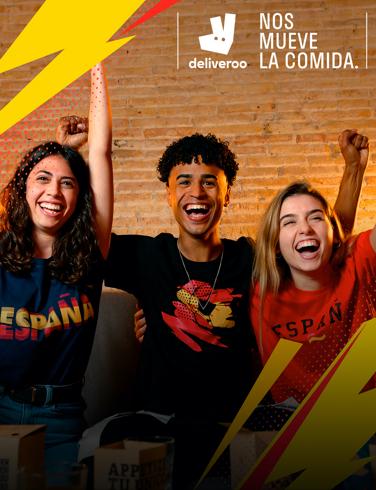 Sprinter y Deliveroo sortean 50 cenas de 30€ al comprar el pack de camisetas de la Eurocopa (3 x 9,99€)