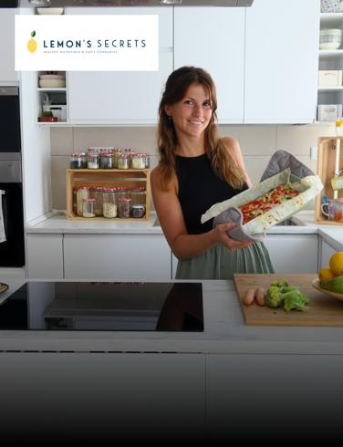 ¡Sorteamos 1 curso de cocina sana en directo con Lemon's Secrets!