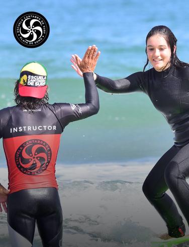 ¡Sorteamos 4 plazas para el Surf Camp intensivo de fin de semana en la Escuela Cántabra de Surf!