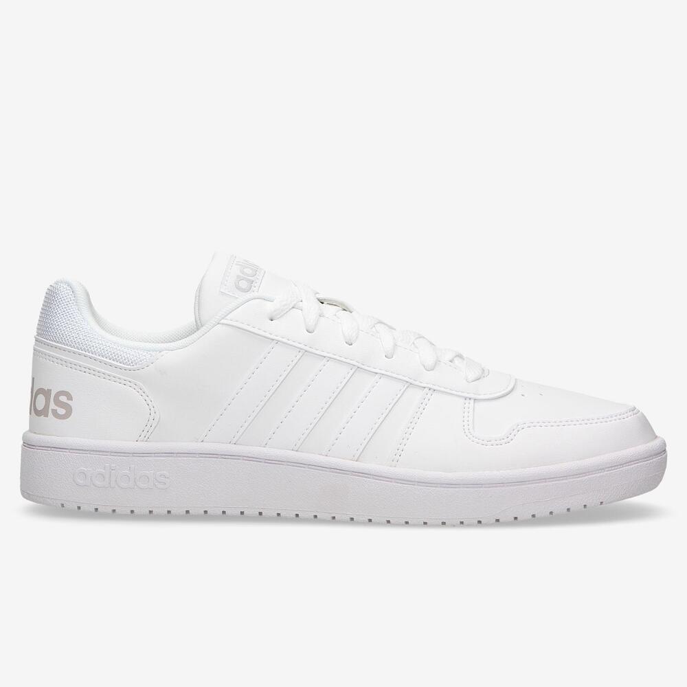 Adidas Hoops 2.0 - Blanco - Hombre