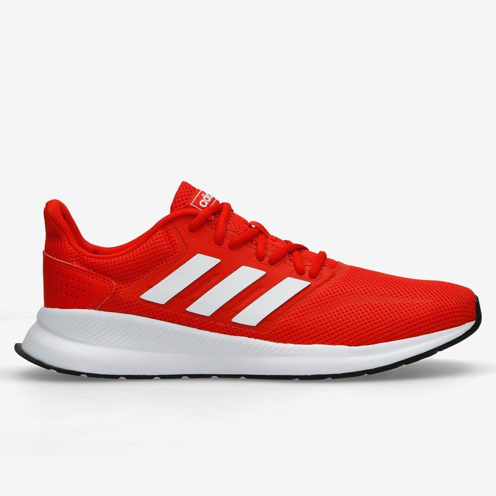 Adidas Falcon - Rojo-Blanco - Running Hombre