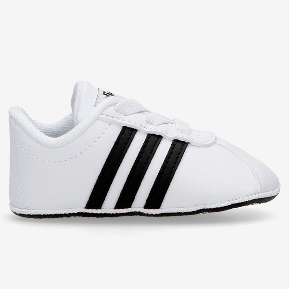 Adidas Vl Court - Blancas - Bebé