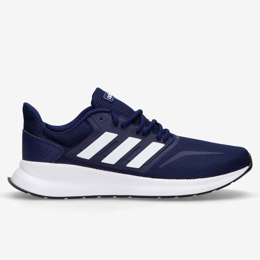 Adidas Runfalcon - Marino-Blanco - Running Hombre