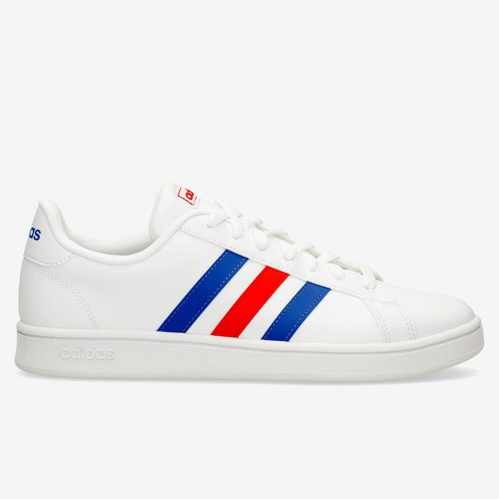 Adidas Grand Court Base - Blanco - Hombre