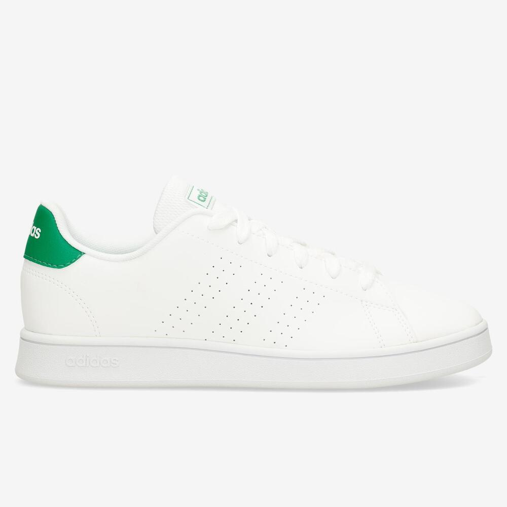 Adidas Advantage 2.0 Blanco-Verde Junior
