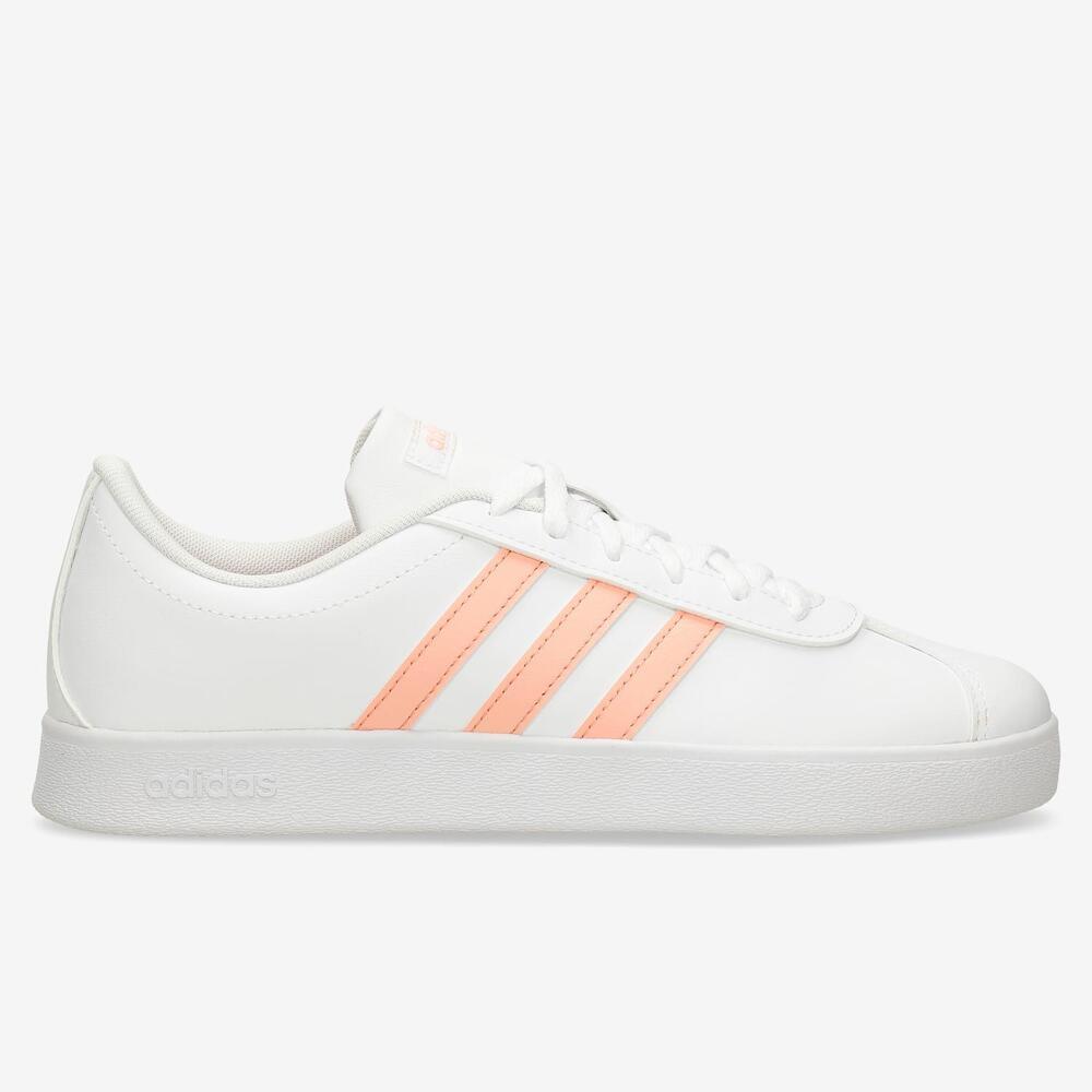Adidas VL Court 2.0 - Blanco - Chica