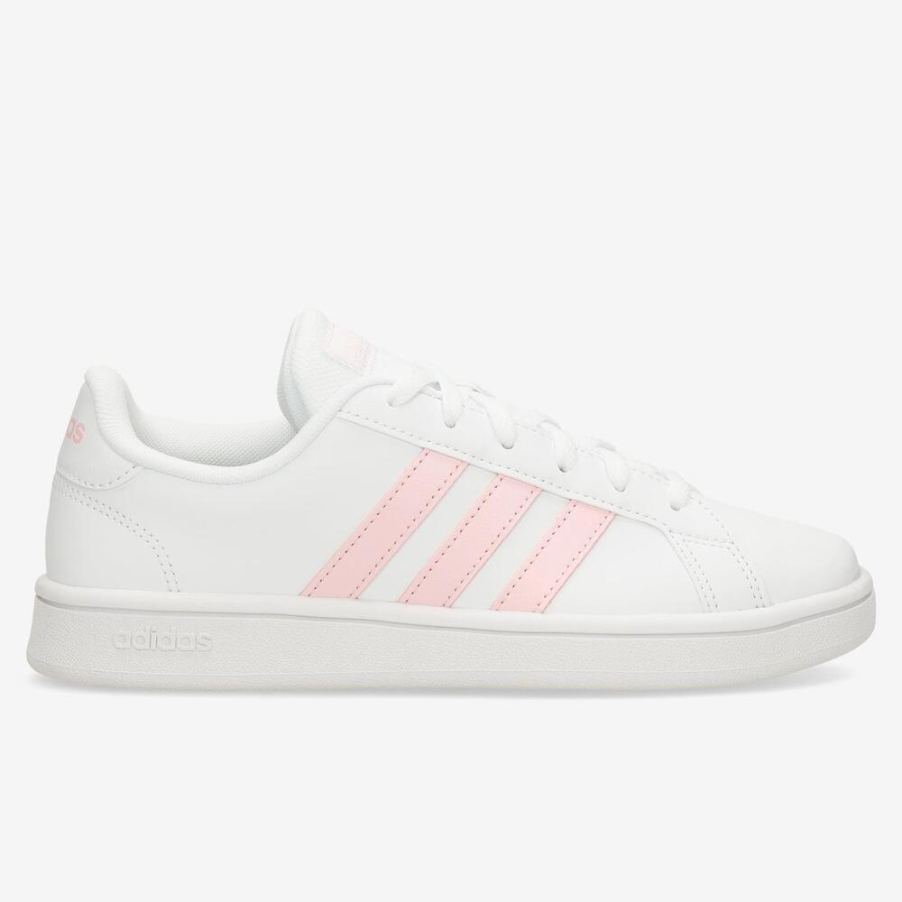 Adidas Grand Court Base - Blanco - Mujer