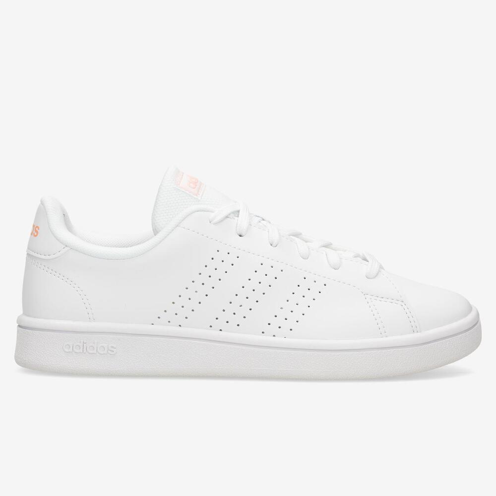 Adidas Advantage Base - Blanco - Mujer