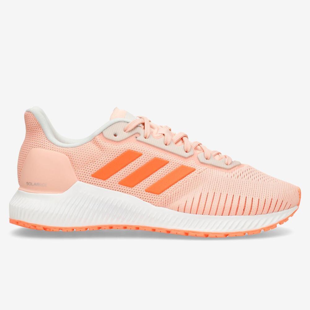 Adidas Solar Ride - Naranja - Running Mujer
