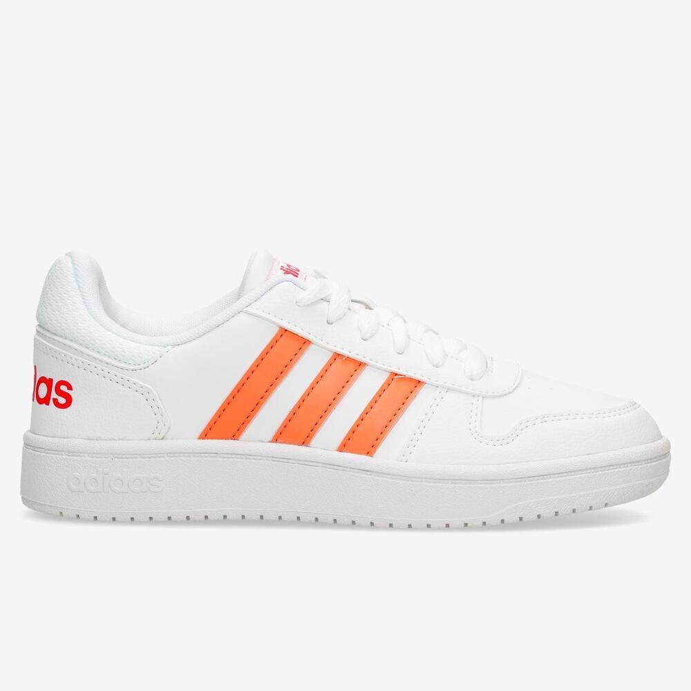 Adidas Hoops 2.0 Blanco Junior