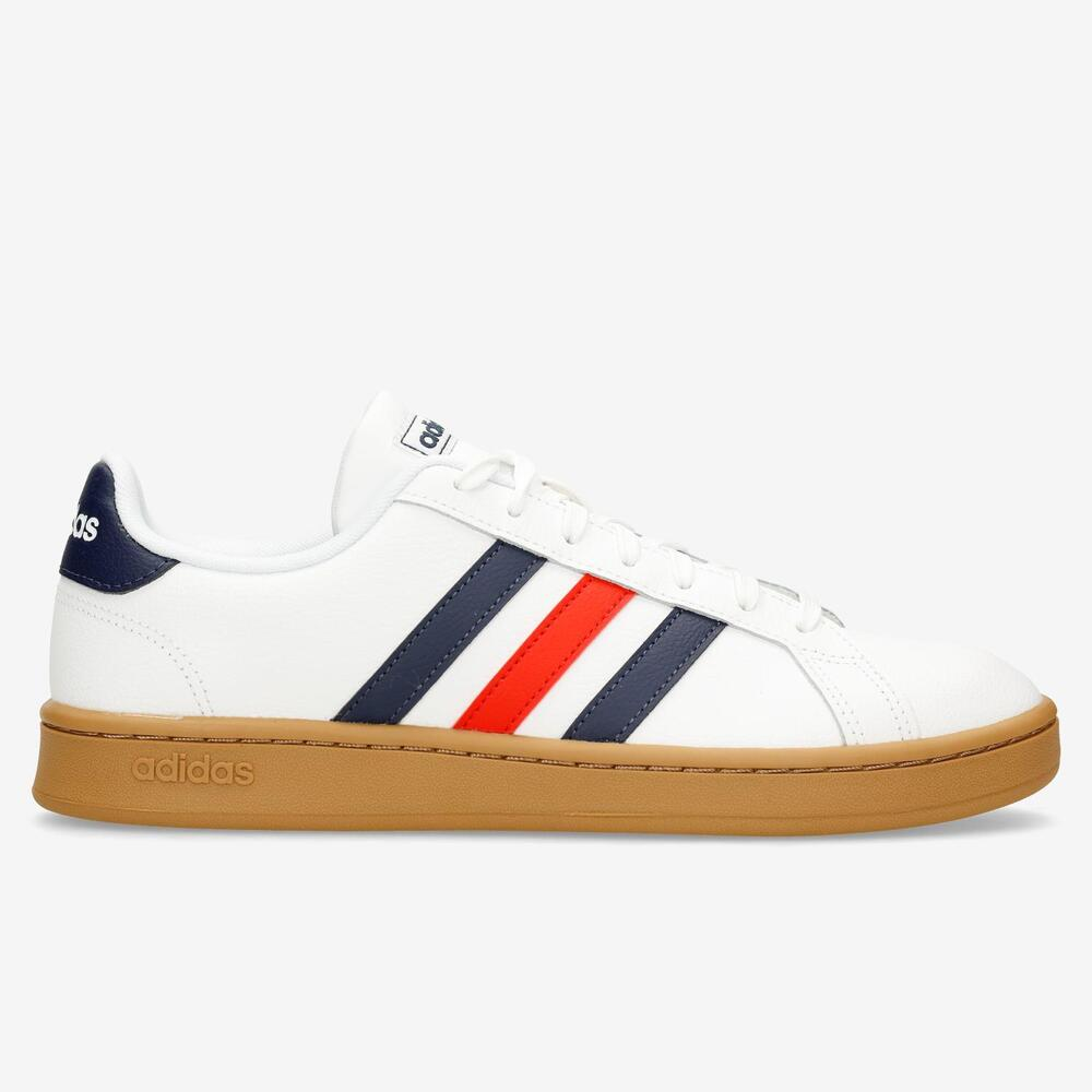 Adidas Grand Court - Blanco - Hombre