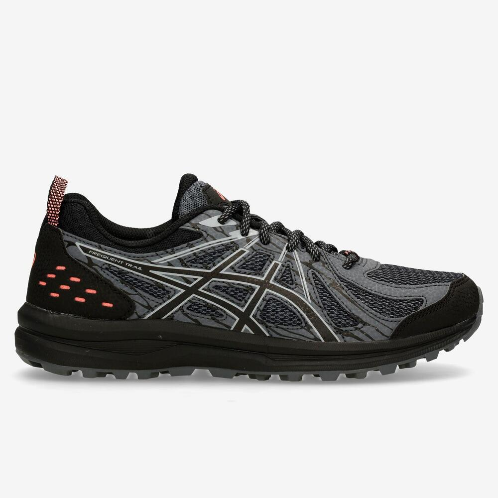 Asics Frequent Trail Gris Trail Mujer