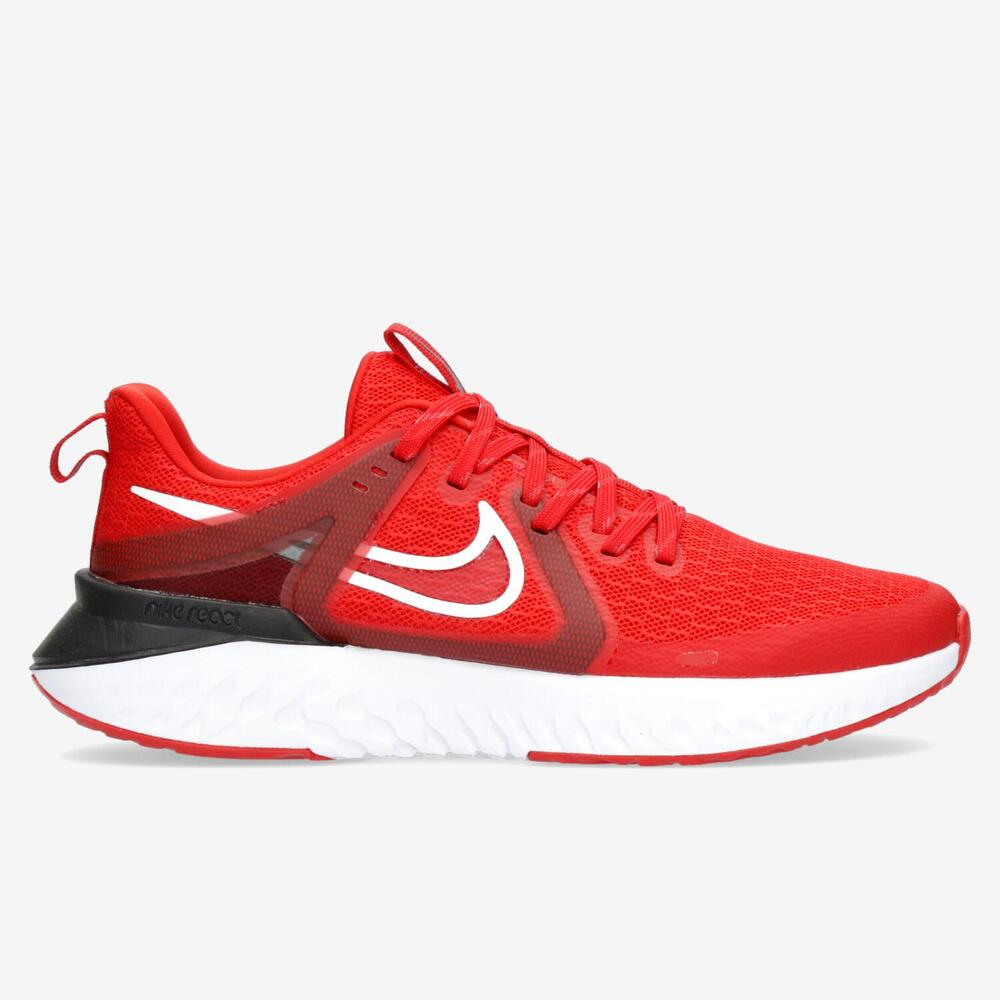 Nike Legend React 2 Rojo Running Hombre