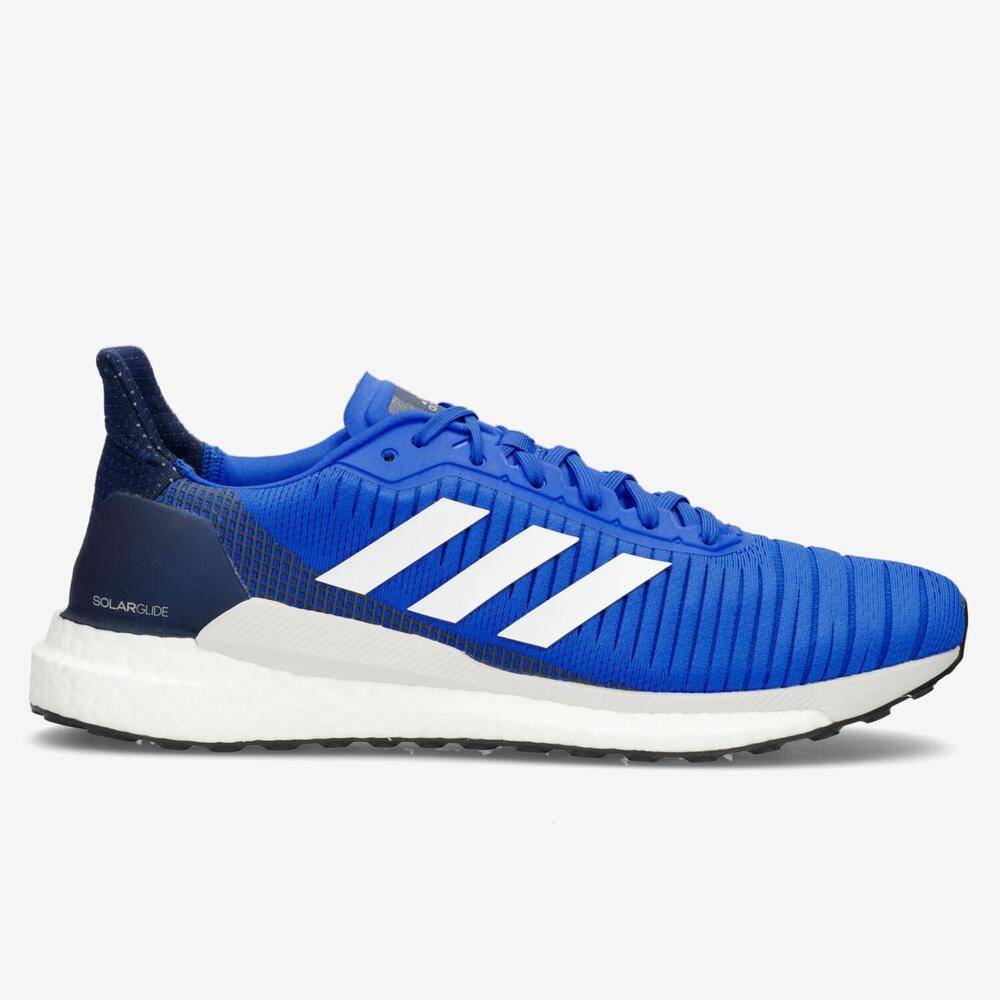 Adidas Solar Glide 19 Azul Running Hombre