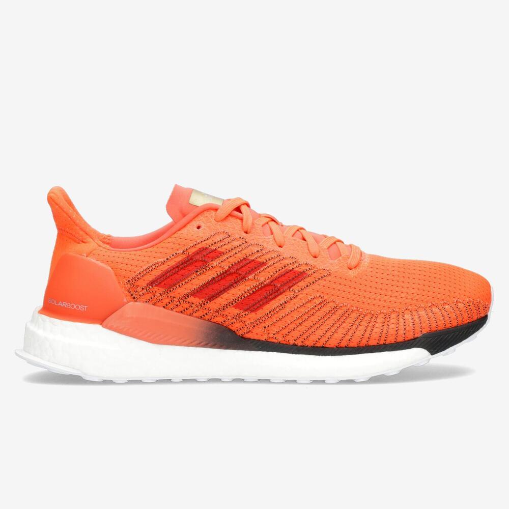 Adidas Solar Boost 19 - Naranja - Running Hombre