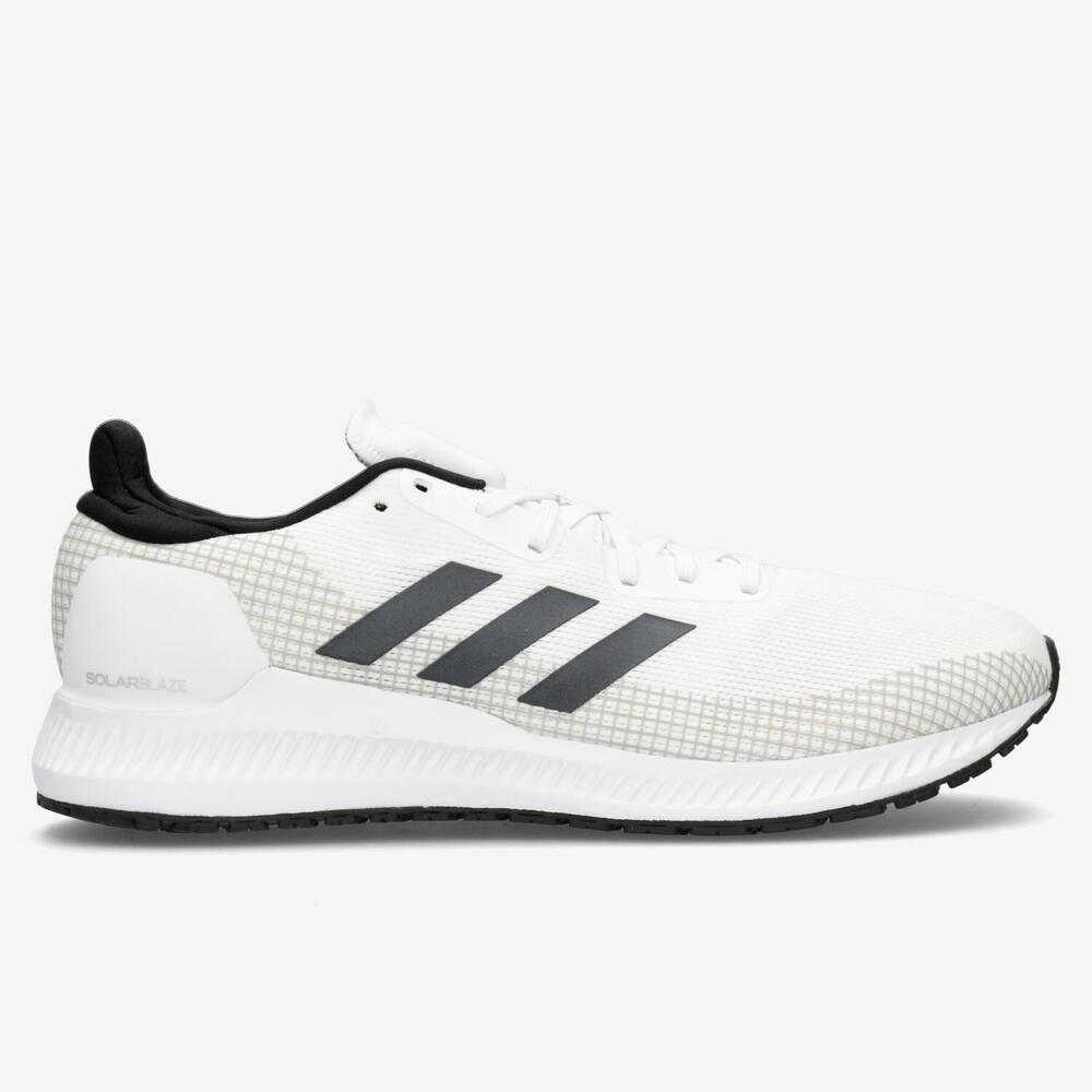 Adidas Solar Blaze - Blanco - Running Hombre