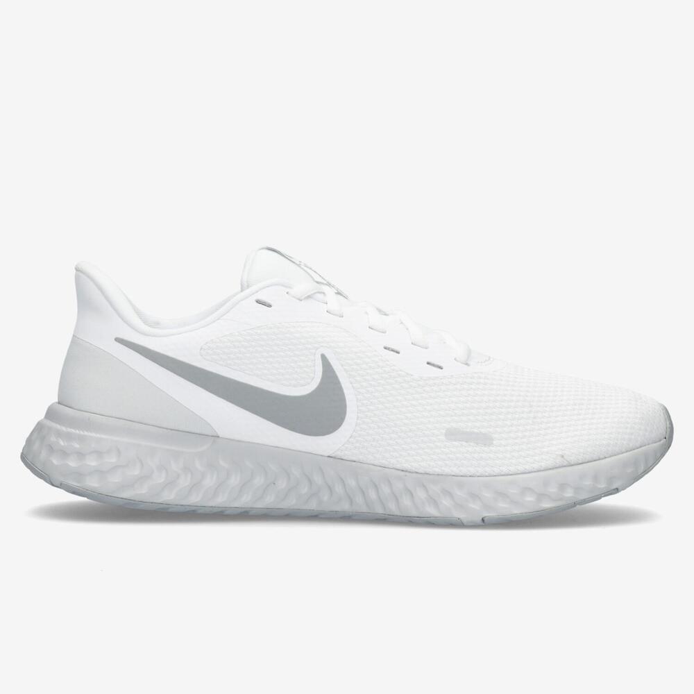 Nike Revolution 5 Blanco Running Hombre