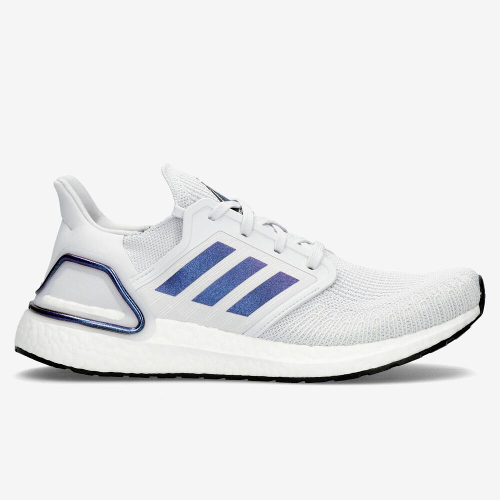 Adidas Ultraboost 20 - Blanco - Running Hombre