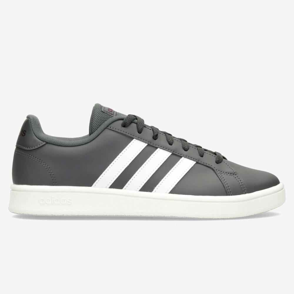 Adidas Grand Court Base - Gris - Hombre