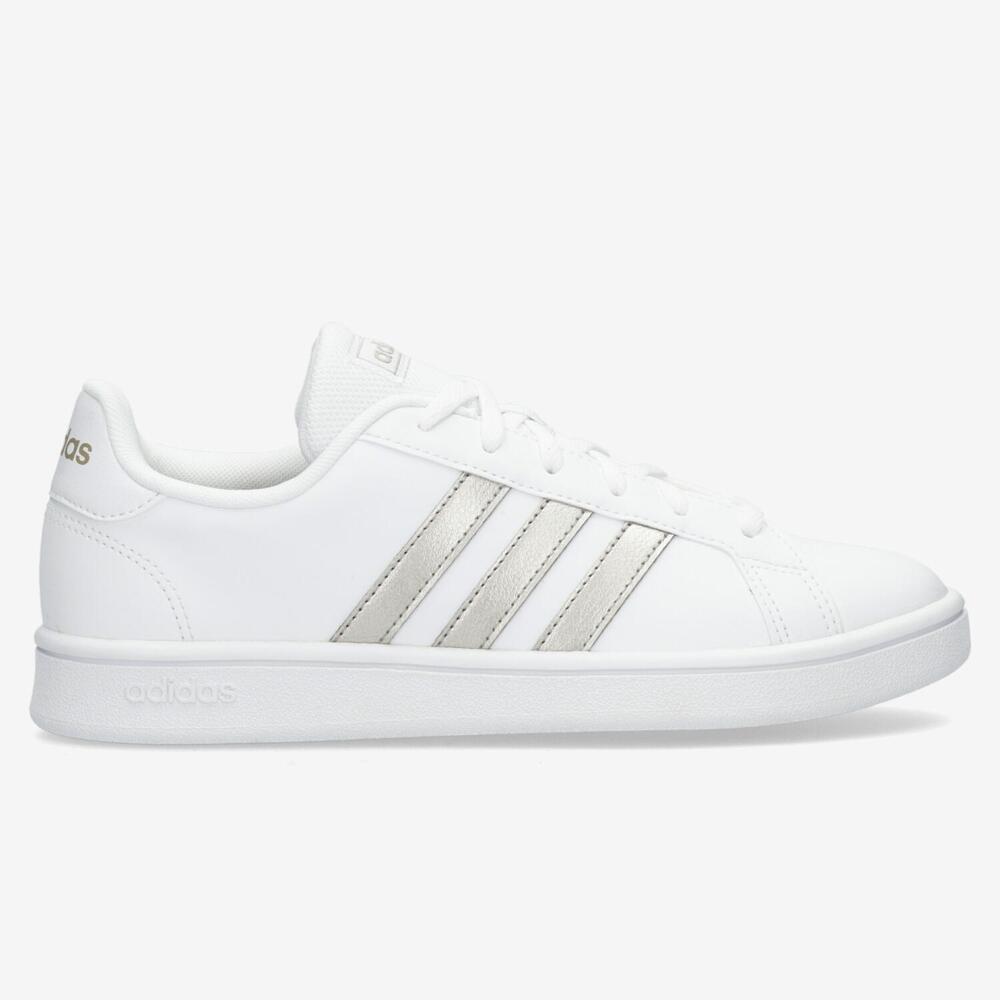 Adidas Grand Court - Blanco - Mujer