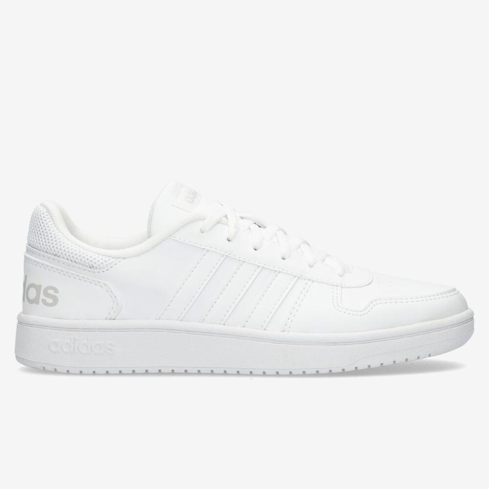 Adidas Hoops - Blanco - Mujer