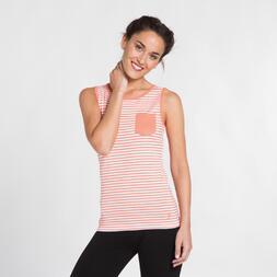 Camiseta Tirantes UP BASIC Naranja Mujer