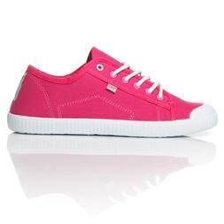 Zapatillas Lona UP TOECAP Rosa Mujer.