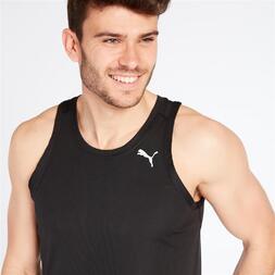 PUMA CORE RUN Camiseta Running Tirantes Negro Hombre