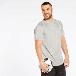 Camiseta Fútbol Gris Hombre Dafor