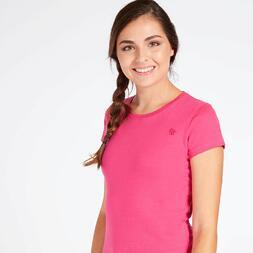 Camiseta Básica Fucsia Mujer Up