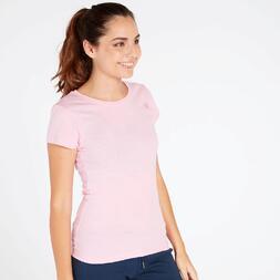 Camiseta Básica Rosa Mujer Up