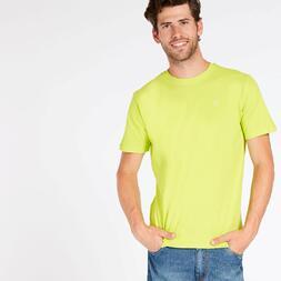 Camiseta Verde Hombre up Basic