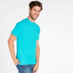 Camiseta Turquesa Hombre Up Basic