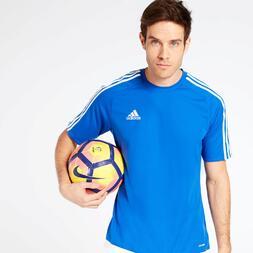 Camiseta adidas Estro 15 Azul