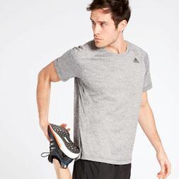 Camiseta adidas Gris