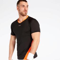 Camiseta Negra Proton Combi