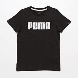 Camiseta Puma Negra Jr