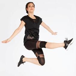 Camiseta Fitness Negra Ilico Power