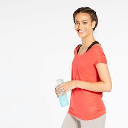 Camiseta Fitness Naranja Ilico