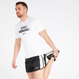 Camiseta Nike Running Blanca