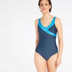 Bañador Natación Azul Paraqua