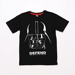 Camiseta Star Wars Negra Junior