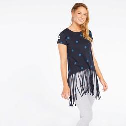 Camiseta Flecos Silver Tropic