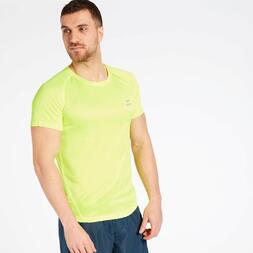 Camiseta Running Amarilla Ipso Basic