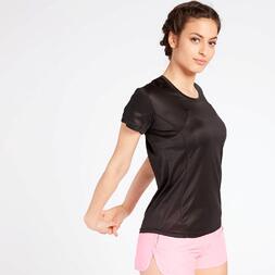 Camiseta Running Negra Ipso
