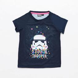 Camiseta Star Wars Azul Niña