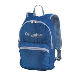 Mochila Plegable Azul Columbus 15l