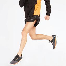 Pantalón Running Negro Ipso Basic