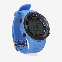 Reloj Deportivo Azul Silver